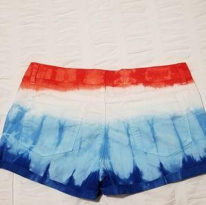 l.e.i. Shorts - l.e.i. tie-dye shorts